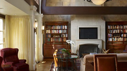 Finished Library—Private Residence, Chicago