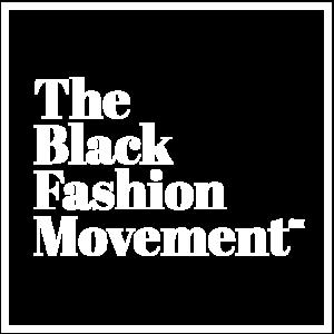 Black Fashion Movement White Box Logo