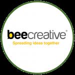 Bee Creative Logo Colorido