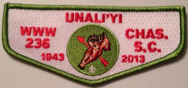 236 Un A Li'yi 70th Anniversary Flap