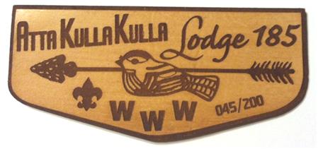 Atta Kulla Kulla Lodge 185 Leather Flap