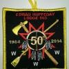 Eswau Huppeday Lodge 560 50th Anniversary Patch