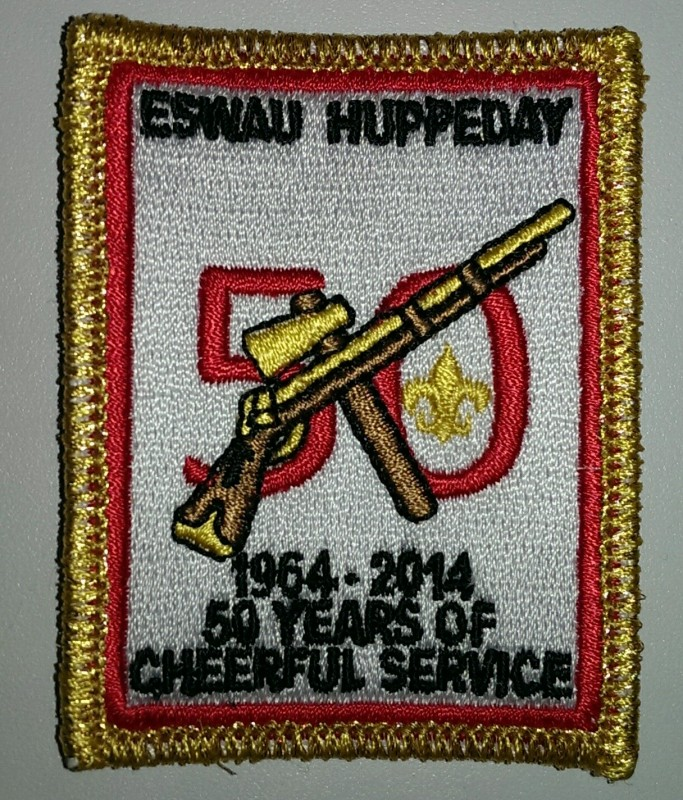 Eswau Huyppeday 50th Anniversary Patch 50 Years