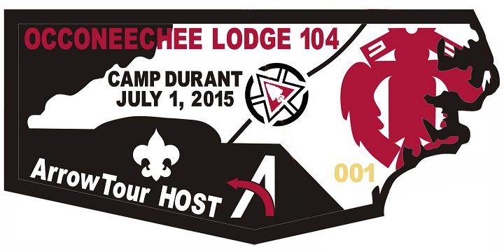 Occoneechee Lodge Metal Flap