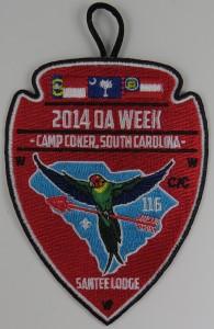 2014 OA Week Patch