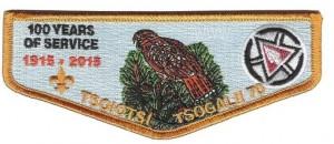 Tsoiotsi Tsogalii Centennial patches flap