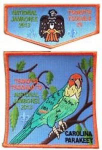 Tsoiotsi Tsogalii Lodge 70 2013 jambo patch