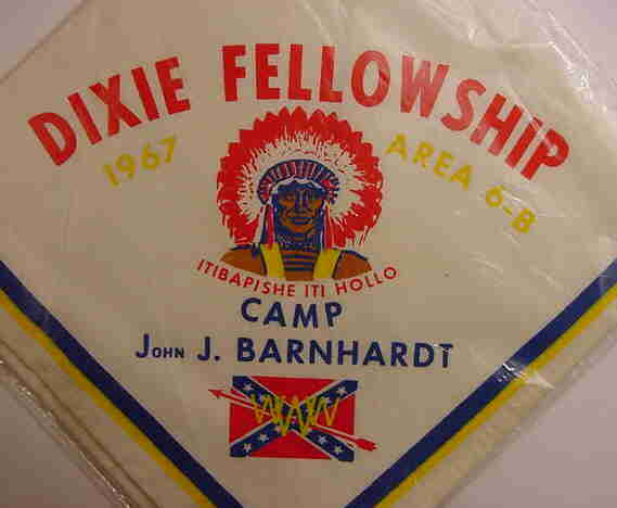 1967 Dixie Fellowship Neckerchief