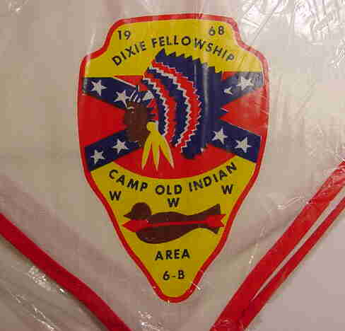 1968 Dixie Fellowship Neckerchief
