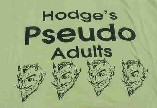Funny t-shirt given by Lodge Adviser Jay Hodge to the 18-21 year old's int he lodge who liked to stir up trouble at business meetings.