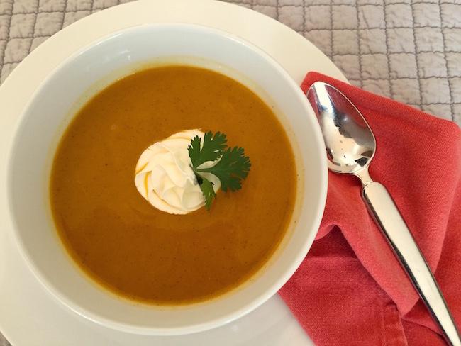 Ginger Squash Soup