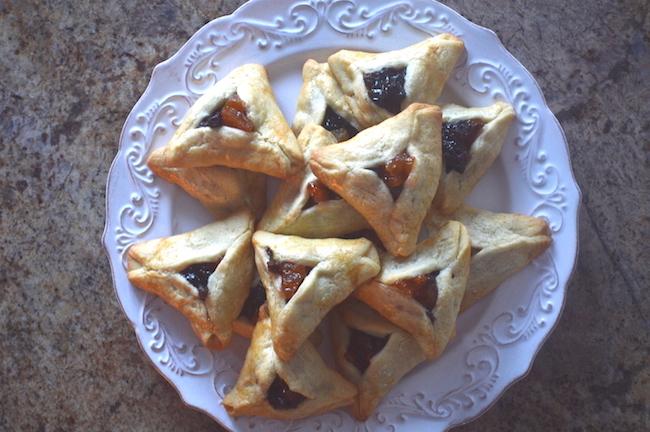 Hamentshen Cookies Finished