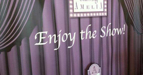 Broadway Themed Bat Mitzvah Party