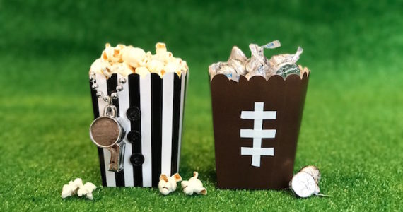 """Game Day Super """"Bowl"""" Containers"""