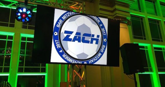 English Premier League Soccer Themed Bar Mitzvah Party