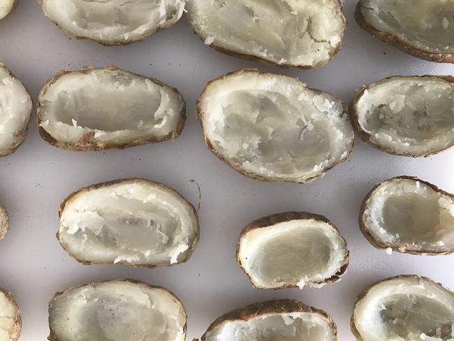 Loaded Crispy Potato Skins