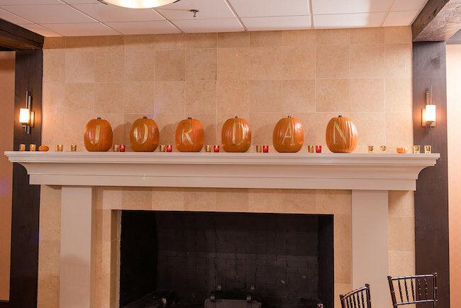 Fall Themed Bat Mitzvah Party