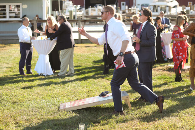 New England Wedding by the Water