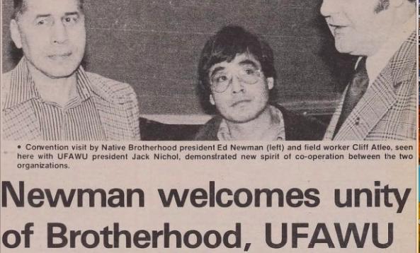 UFAWU-Unifor Remembers Chief Edwin Newman
