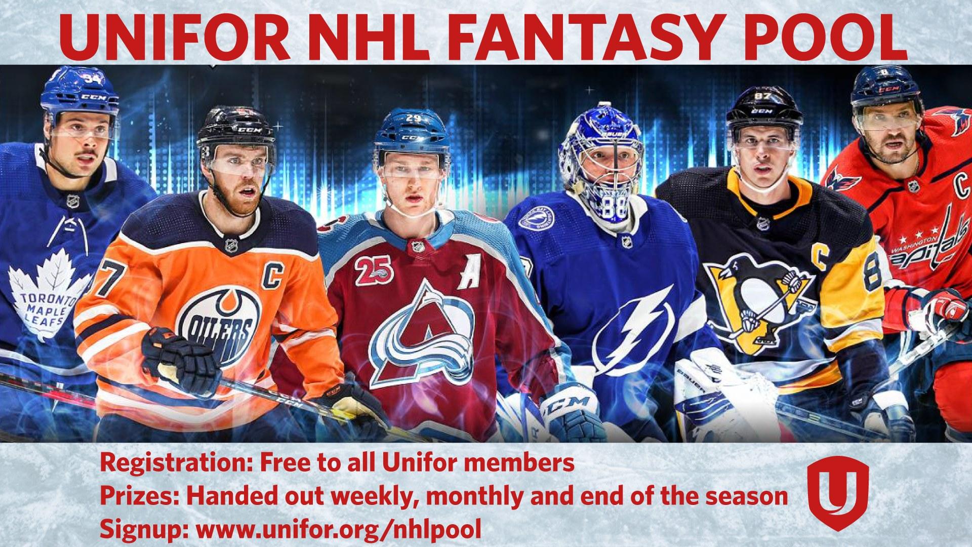 2nd Unifor NHL Fantasy Hockey Pool