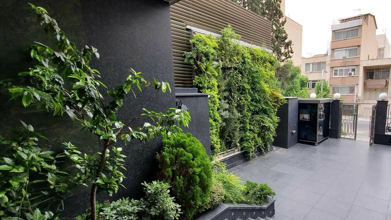 Fakour Sanat Office Yard