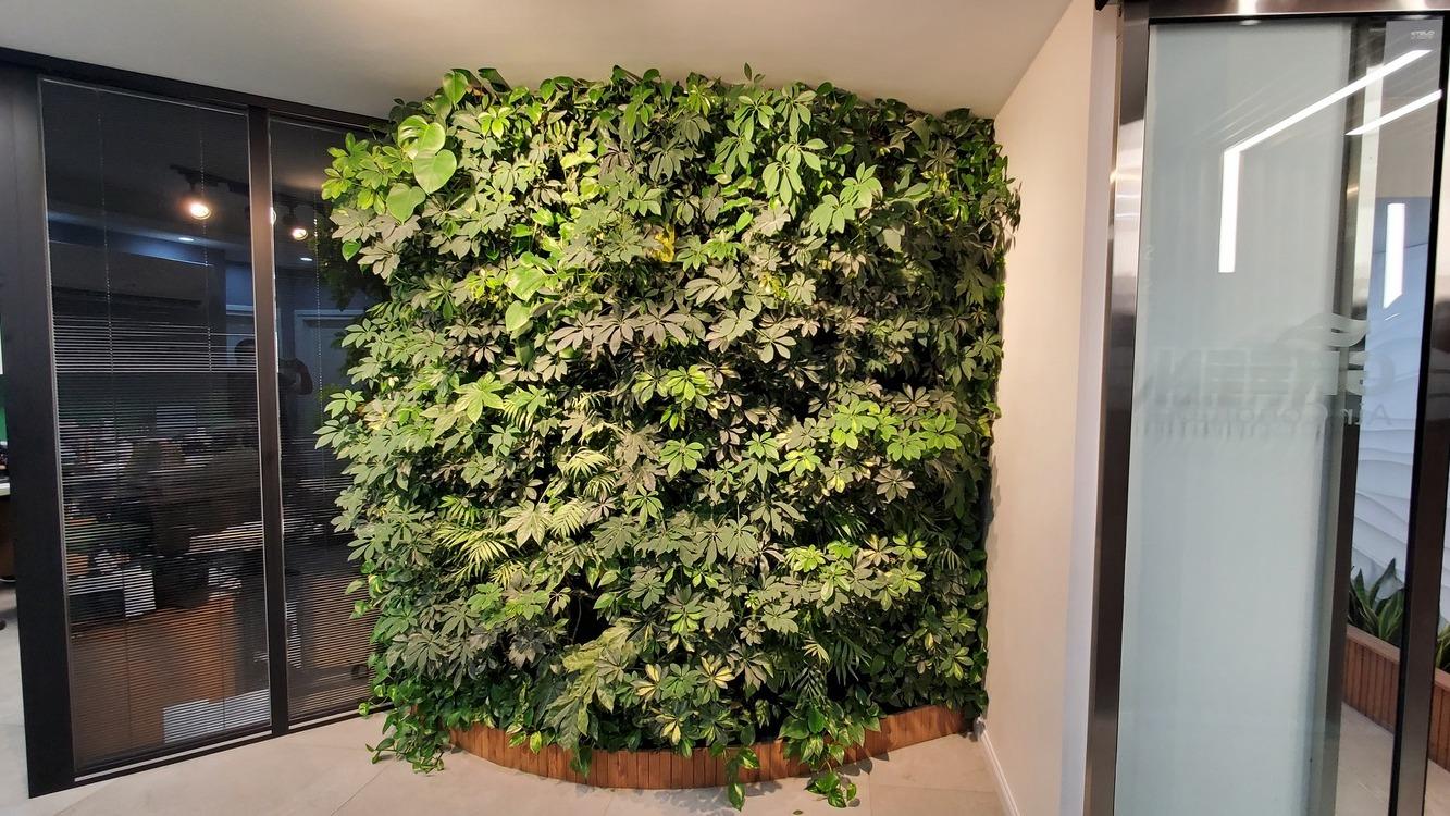 Green Office Lobby