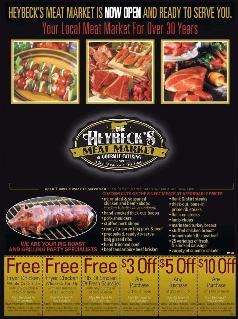 Heybeck's Coupons