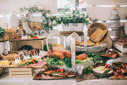 Decorative Buffet Arrangement