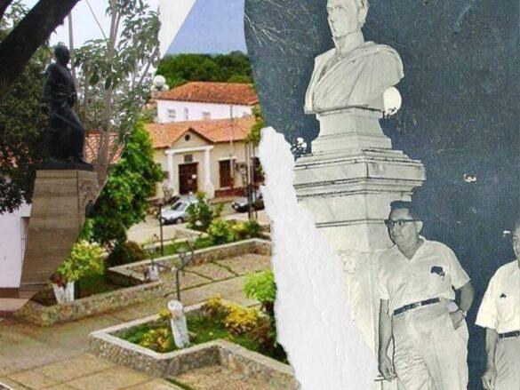 La plaza Bolívar de Zaraza, de barandas de hierro a cercas de concreto