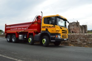 Metcalfe Plant Hire Contracting Division New Tipper at Brougham