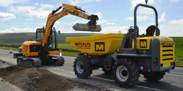 Contracting Division A66 Stainmore Summit Drainage & Earthworks