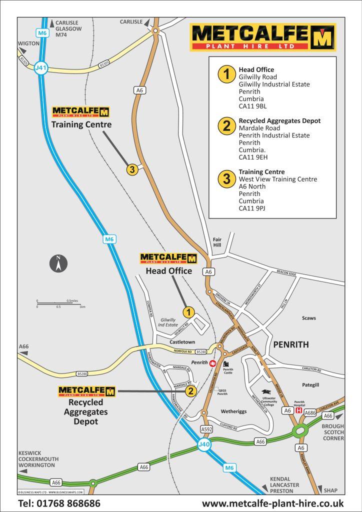 Metcalfe Plant Hire Ltd - 3 locations - Penrith_col