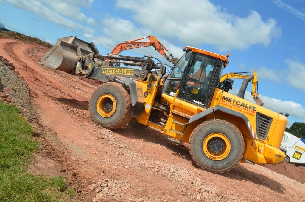 Plant Hire at work