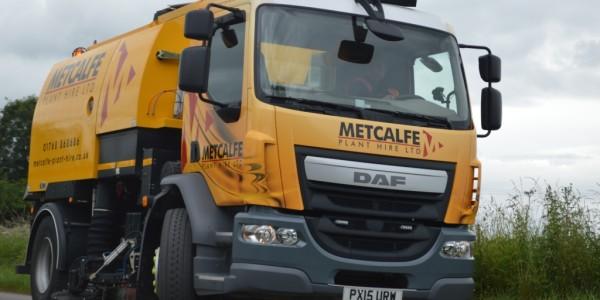 DAF Sweeper Working in Cumbria