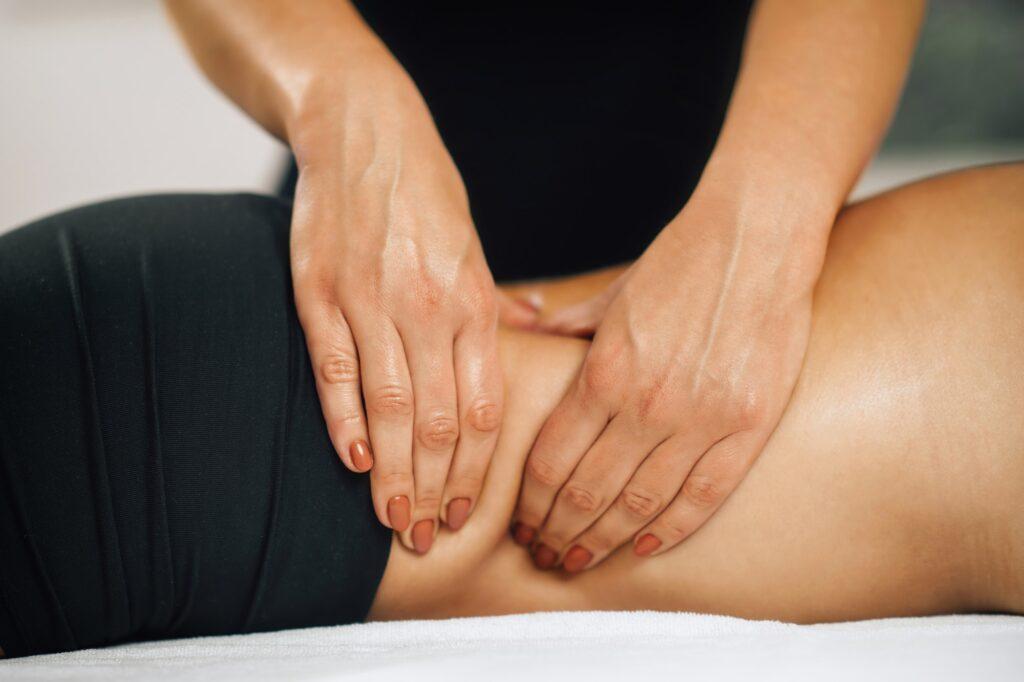 Deep Tissue Massage Detail