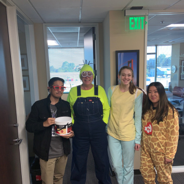 The 2019 Halloween party in the Richmond office.