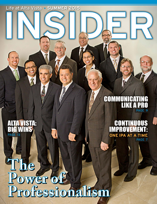 Insider Magazine Summer 2015