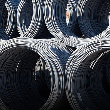 Coiled steel (Click for more info on our commercial work)