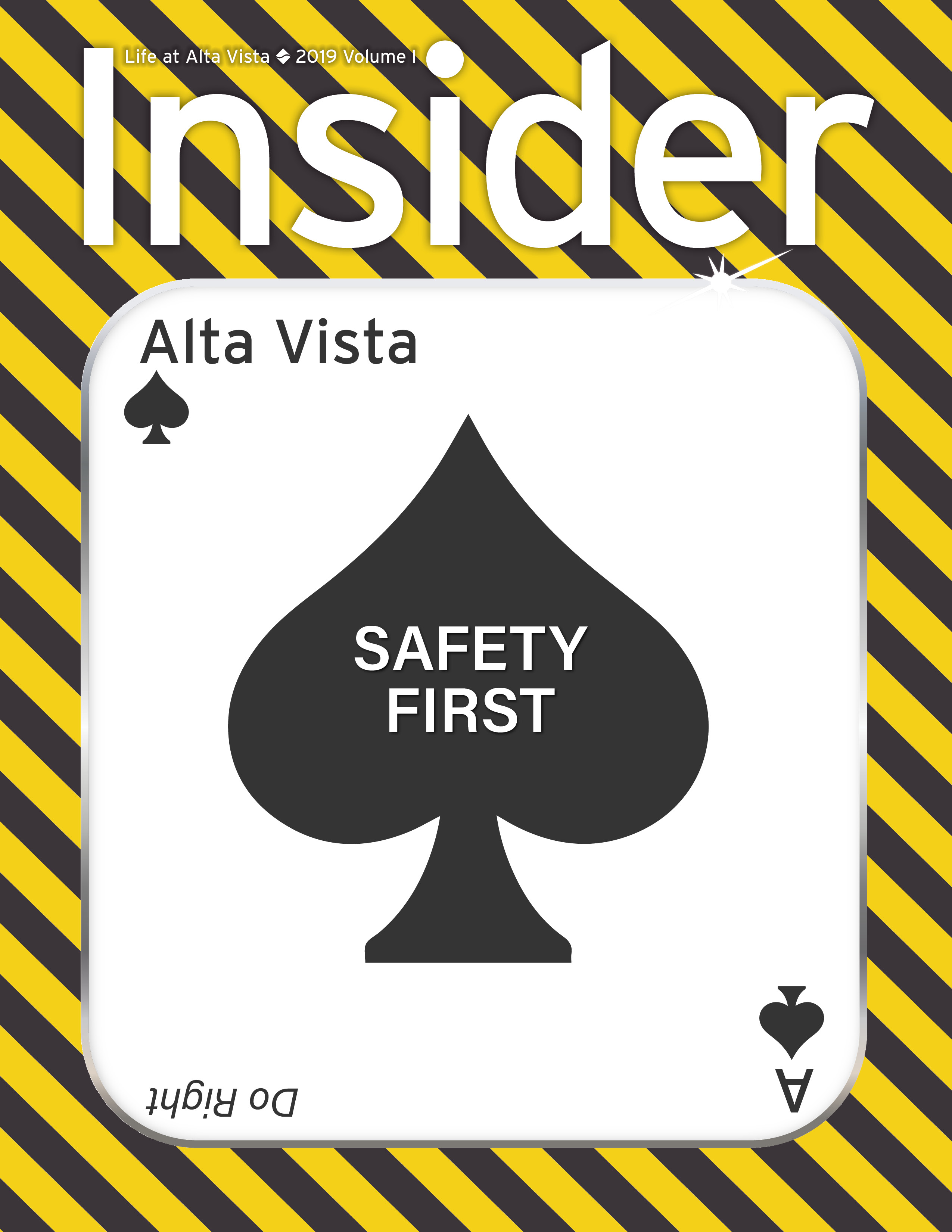 Insider 2019 Volume 1 edition: Safety (Click to view this issue)