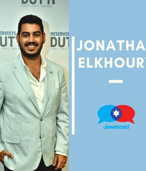 Episode #50 – Jonathan Elkhoury – Israeli-Lebanese Christian public diplomacy adviser, speaker, advocate for Israel, and commentator