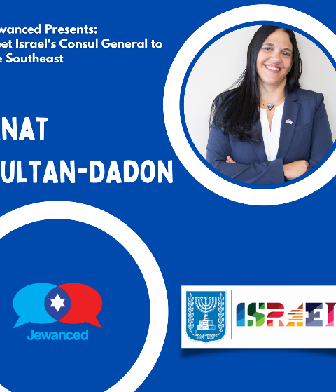 Episode #53 – Anat Sultan-Dadon – Israel's Consul General to the Southeastern United States