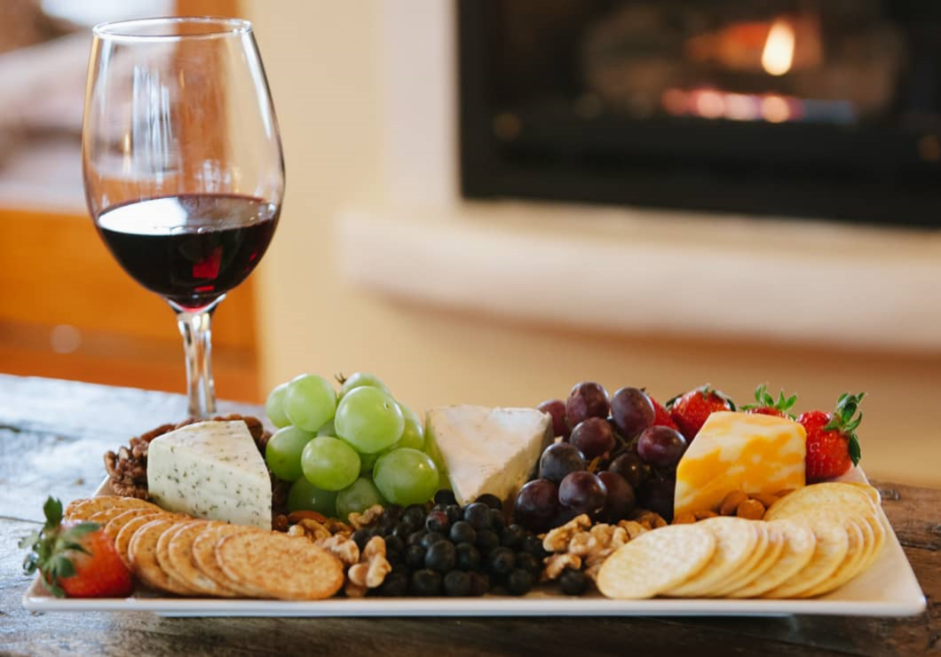 Blue Lake Ranch Wine and Cheese Special