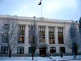 Oregon Supreme Court Building Winter
