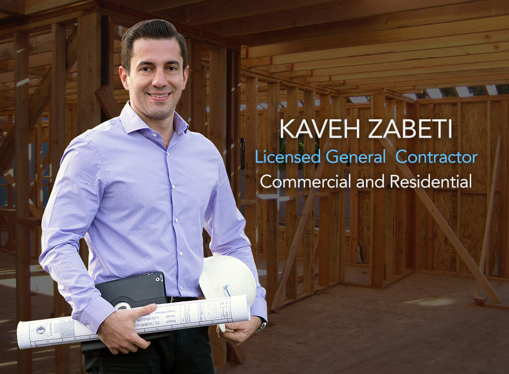 Kaveh Zabeti - Licensed General Contractor