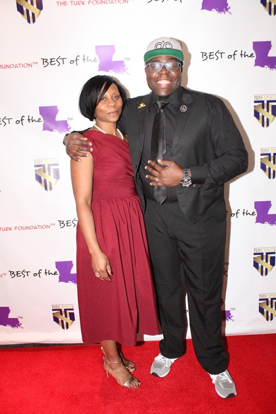 Keynote speaker Ash Cash and wife