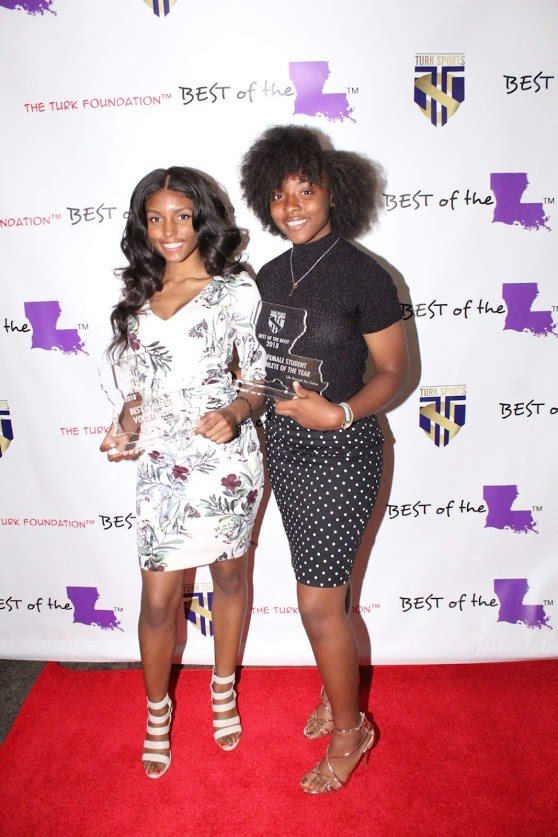 St. Katherine Drexel Prep own Tamara Tate & Genise Wells with their hardware