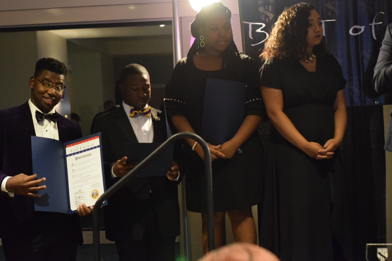 Turk's Team receive Proclamations from City of New Orleans Representative