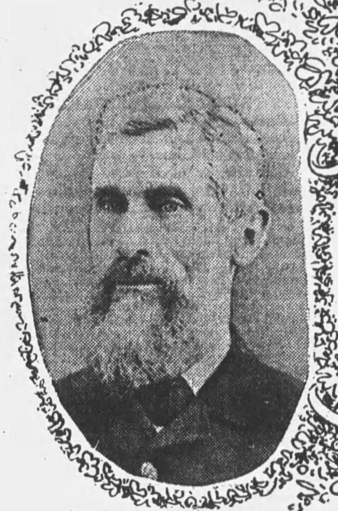 Nineteenth century bearded man in suit
