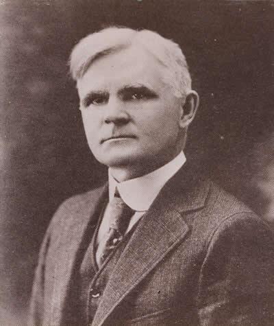 Robert K. Toaz, first superintendent of the Huntington School District.