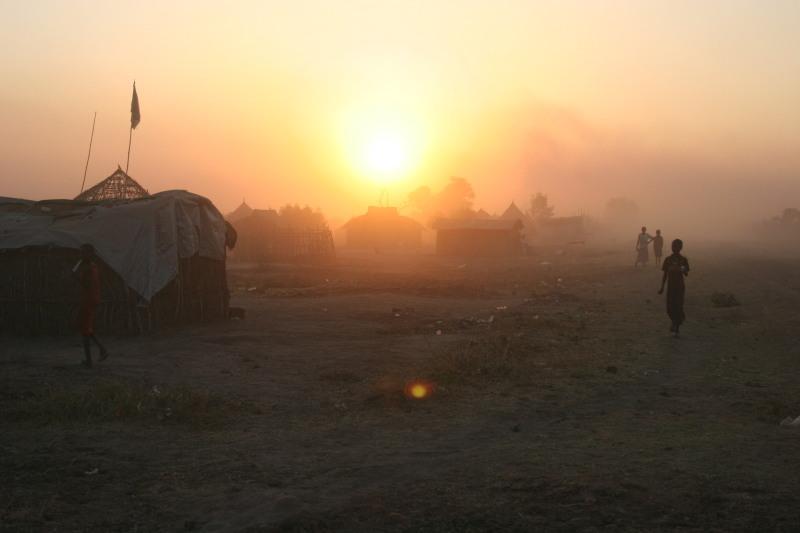 South Sudan sunrise